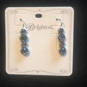 New! Brighton Infinity Sparkler Earrings